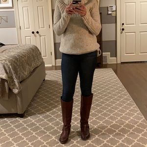 Frye harness riding boot tall